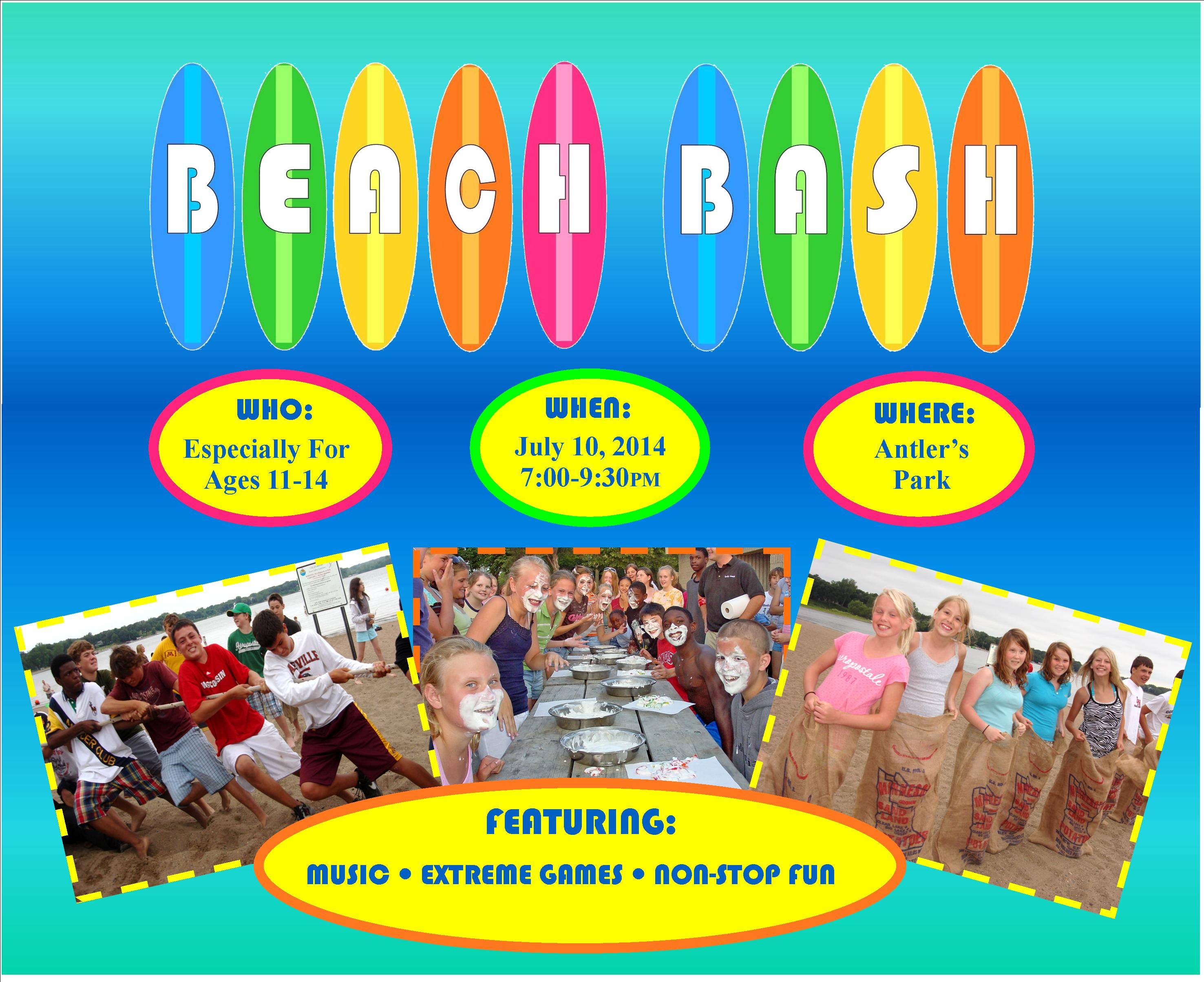 Pan-O-Prog Beach Bash